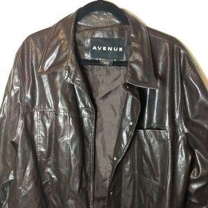 Brown Textured Jacket